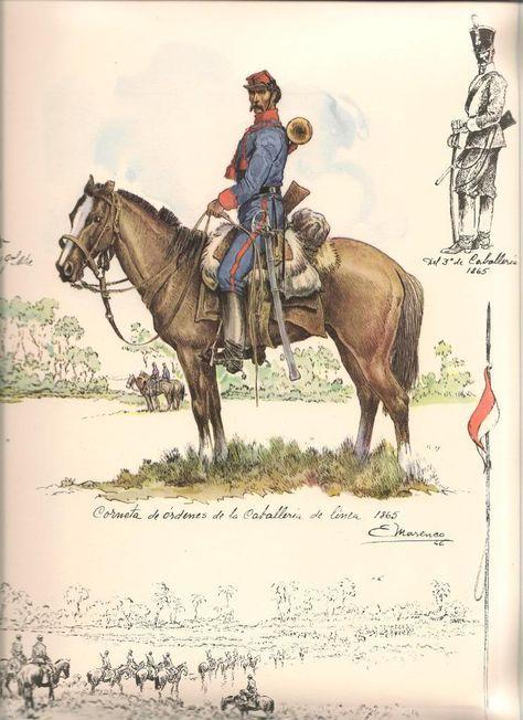 Para la Guerra de la Triple Alianza, se crearon unidades de zapadores a fin de facilitar el desplazamiento de las tropas en el territorio paraguayo, escaso de caminos en buen estado o puentes para cruzar los numerosos cursos de agua