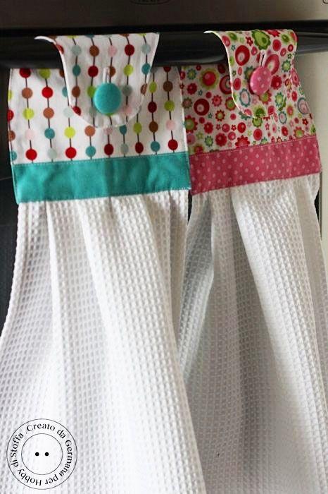 DIY cortinas para la cocina