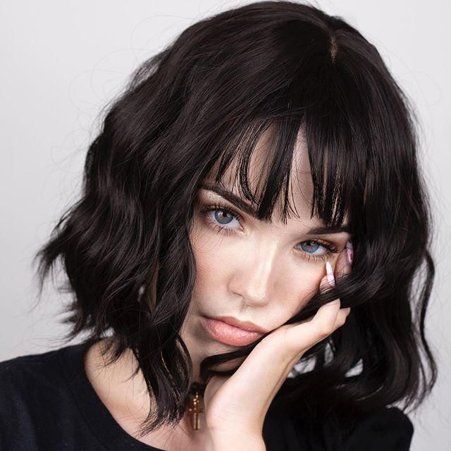 20++ Short hair with bangs inspirations