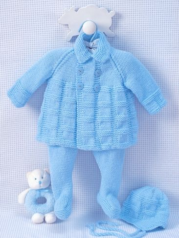 Pram Set to Knit | Yarn | Free Knitting Patterns | Crochet Patterns | Yarnspirations
