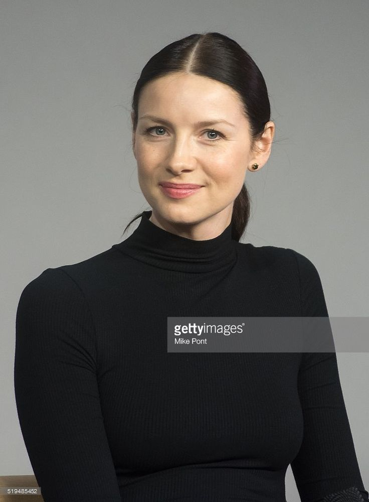 Actress <a gi-track='captionPersonalityLinkClicked' href=/galleries/search?phrase=Caitriona+Balfe&family=editorial&specificpeople=4359165 ng-click='$event.stopPropagation()'>Caitriona Balfe</a> attends Apple Store Soho Presents Meet the Cast: 'Outlander' at Apple Store Soho on April 6, 2016 in New York City.