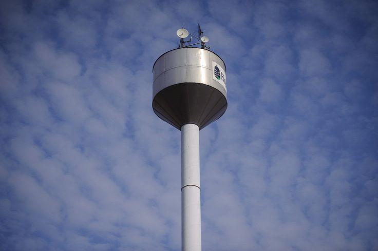 Aquahenger típusú víztorony Hajdúböszörmény-Hajdúviden  Forrás: MTI/Czeglédi Zsolt