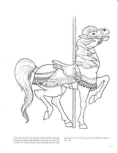 67 Best Painting Carousel Horses Images On Pinterest