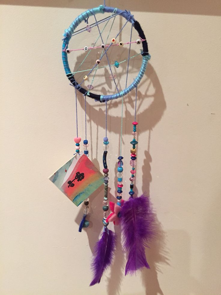Personalised dream catcher gift