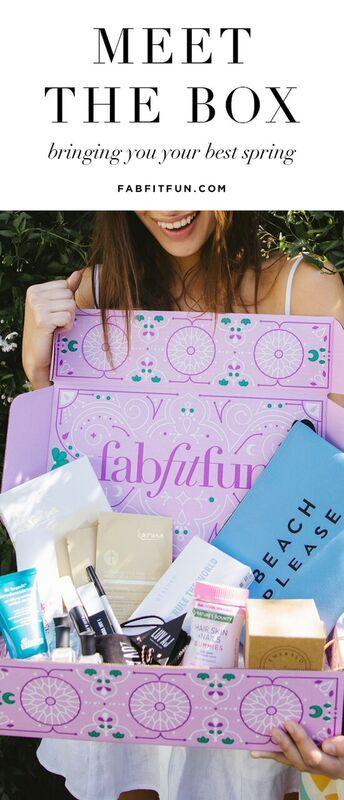 FabfitFun Spring 2017 Box!! #fabfitfun #spring #fitness #beauty #subscription box #raw fashion magazine #pink #karuna #beach