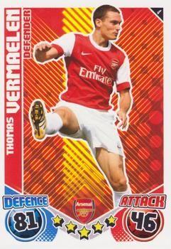 2010-11 Topps Premier League Match Attax #4 Thomas Vermaelen Front