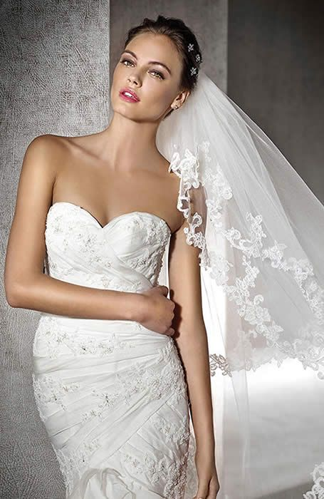 San Patrick wedding gown