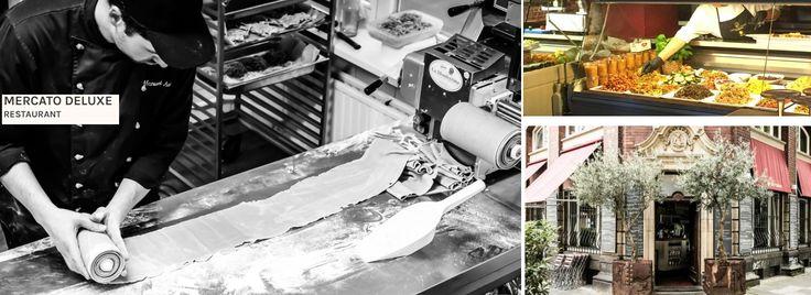 MERCATO DELUXE - Italienisches Restaurant am Mediapark zwischen Cinedom und Saturn. Weinbar und frische Küche aus Südtirol.