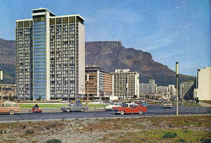 Cape Town Foreshore, 1964.