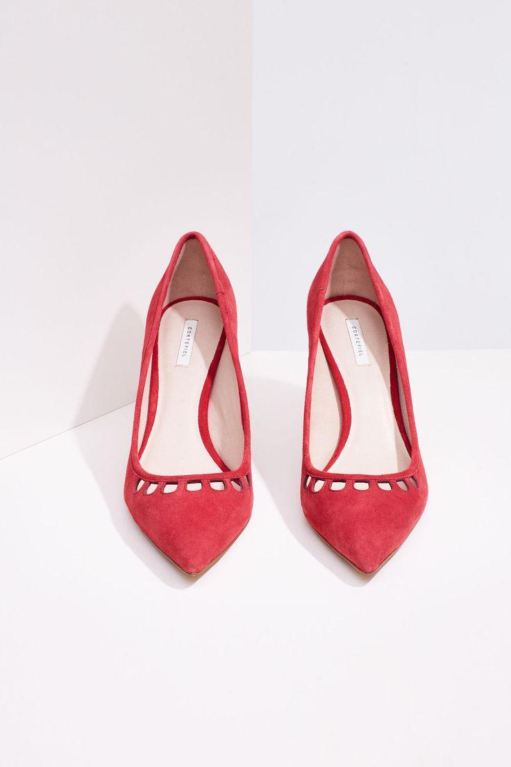 Salón ante calados | Zapatos | Cortefiel