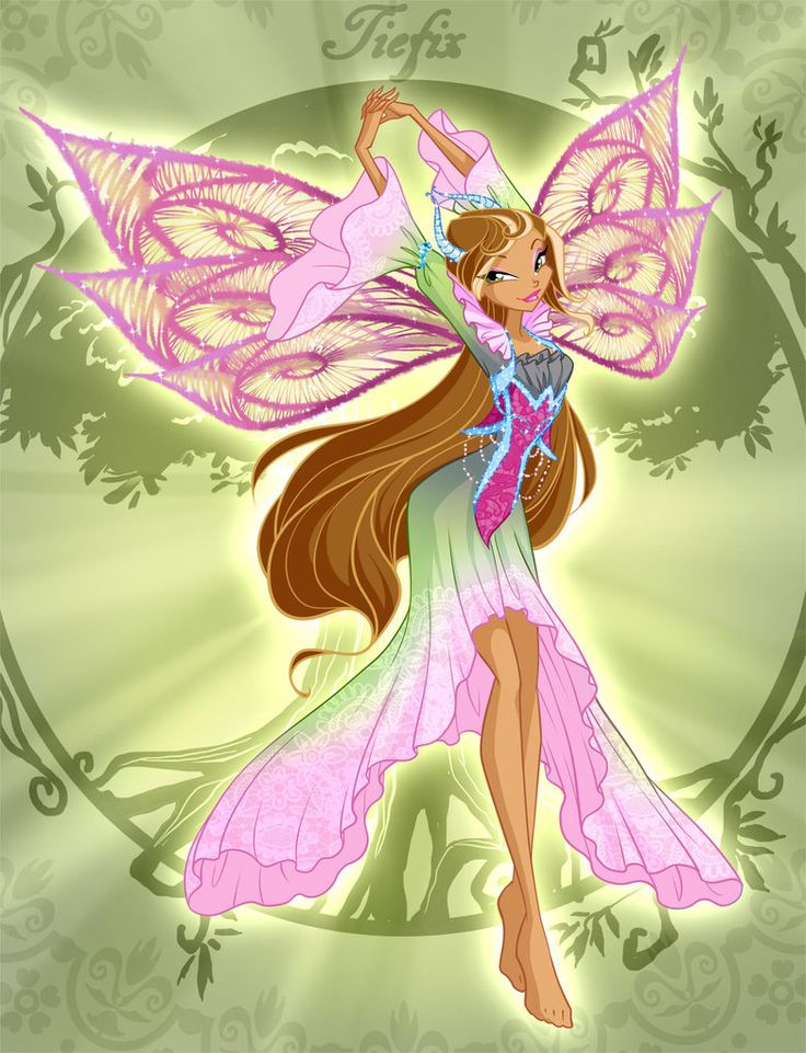 Winx Club Flora Tiefix by fantazyme on DeviantArt