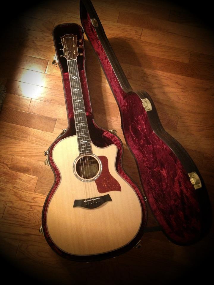My Taylor 814ce - she's finally mine!!!!! 5/30/12  -e