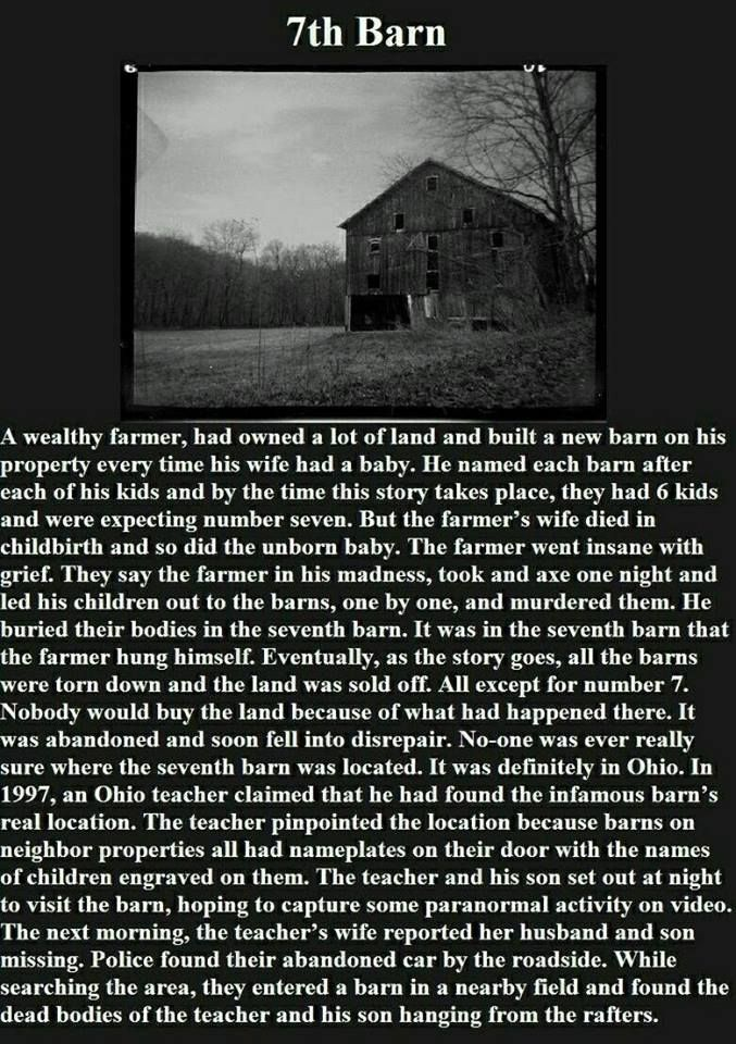 best scary images creepy stuff random stuff  the 7th barn a creepy ghost story that truly does have a location to go