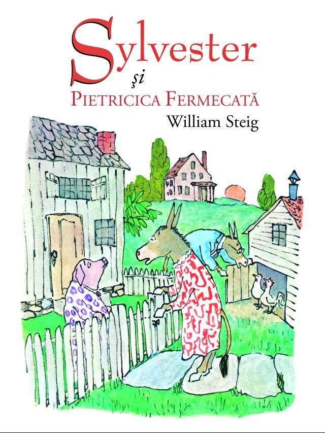 Sylvester si pietricica fermecata - William Steig; Varsta 6-12 ani; O carte despre puterea iubirii. Iubirea poate rupe chiar si vraji. O carte despre cumpatare in cerintele pe care le faci Universului. Magarusul Sylvester gaseste o piatra fermecata si, din greseala, ii cere sa-l transforme intr-o piatra. Povestea urmareste trairile acestuia in incercarea de a reveni la viata de dinainte si a familiei sale in eforturile de cautare a lui.