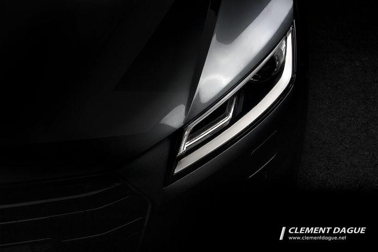 Audi TT 2015 headlights - Audi TT 2015 detail shot