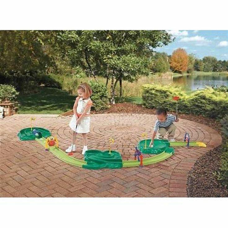 PAR'FECT 9 - Hole Miniature Golf Course Set | FlagHouse |Miniature Golf Set