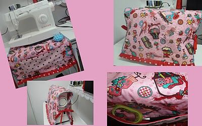 Capa para Máquina de Costura: Covers For, Máquinas Sewing Machine, Para Máquinas Sewing, Learn Crafts, Sewing, Craft Is, Craft Ideas, Corner Of