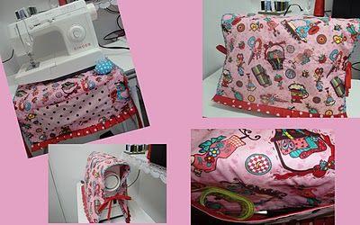 Capa para Máquina de Costura: Sewing