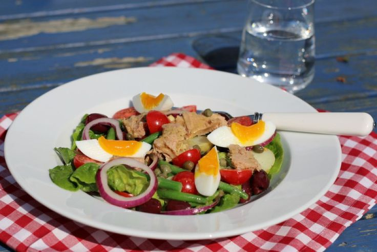 En slags salat Niçoise