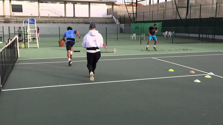 Tennis Pre Season 2015 - Coordinative intermitent circuit on court 02