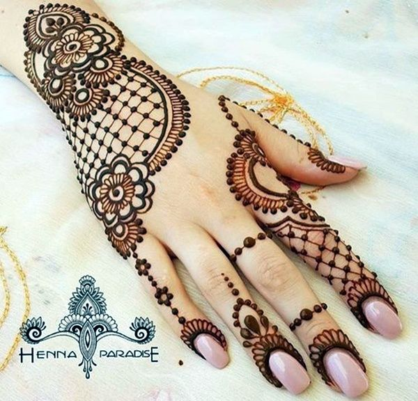 beautiful arabic mehndi designs for hands