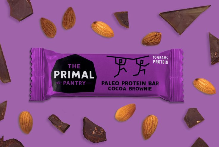 NEW! The Primal Pantry 'Paleo Protein Bar'. 3 flavors on our webshop! Get it now!