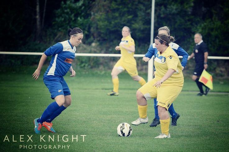 Leeds Ladies Won't Lose Heart After Last Minute Defeat // Carey 'Kez' Huegett by Alex Knight