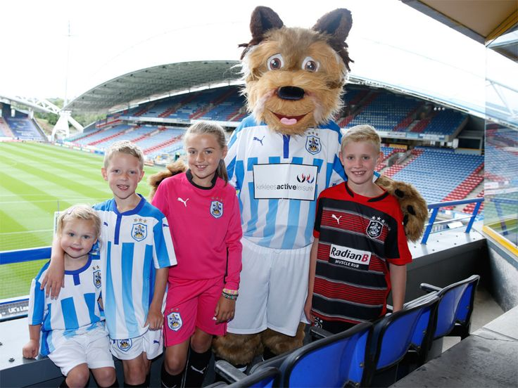 New Terry the Terrier at Huddersfield Town