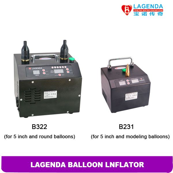 2 pcs/ lot Free Shipping Timer and Counter Lagenda Balloon Inflator Electric Modeling Balloon Pump