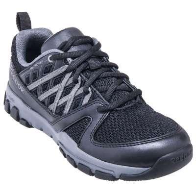 Reebok Shoes: Sublite Women's RB416 Black ESD Steel Toe Athletic Work Shoes - Women's Steel Toe Tennis Shoes - Women's Steel Toe Shoes - Footwear