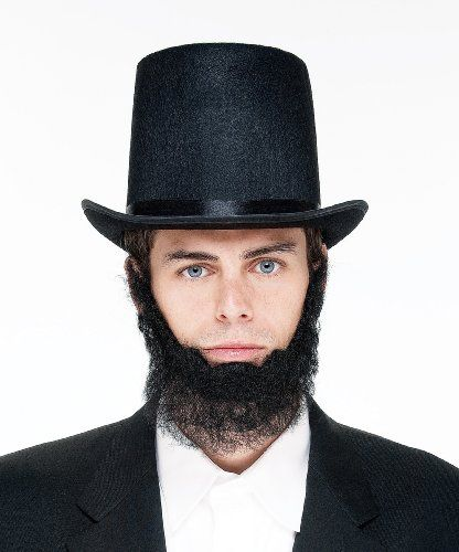abraham lincoln hat and beard