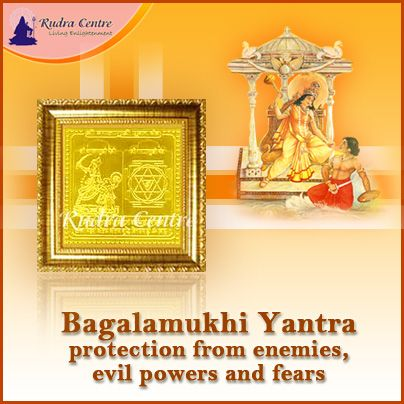 Maa Bagalamukhi is the Goddess of power and strength and so worshiping the Bagalamukhi Yantra leads to victory over enemies and competitors. It brings success in law suits and offers protection from enemies, evil powers and fears.