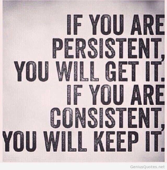 Billedresultat for persistence is the key