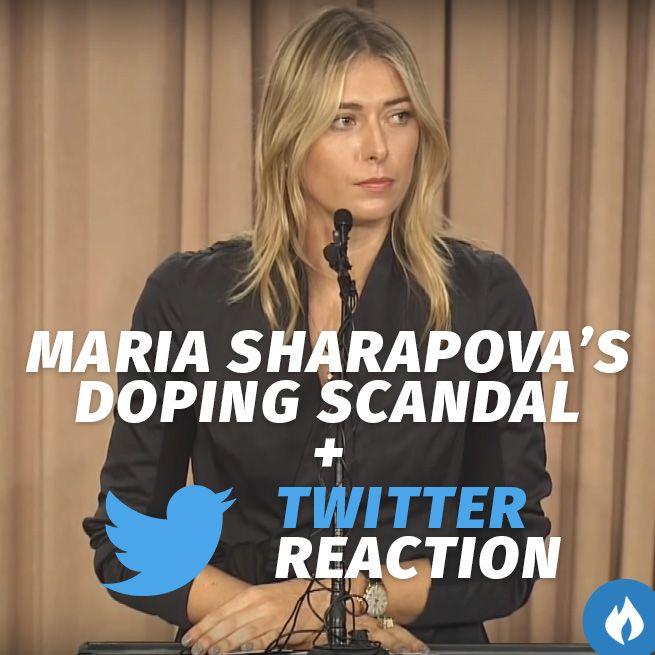 How Twitter Reacted To Maria #Sharapova 's Failed Drugs Test.