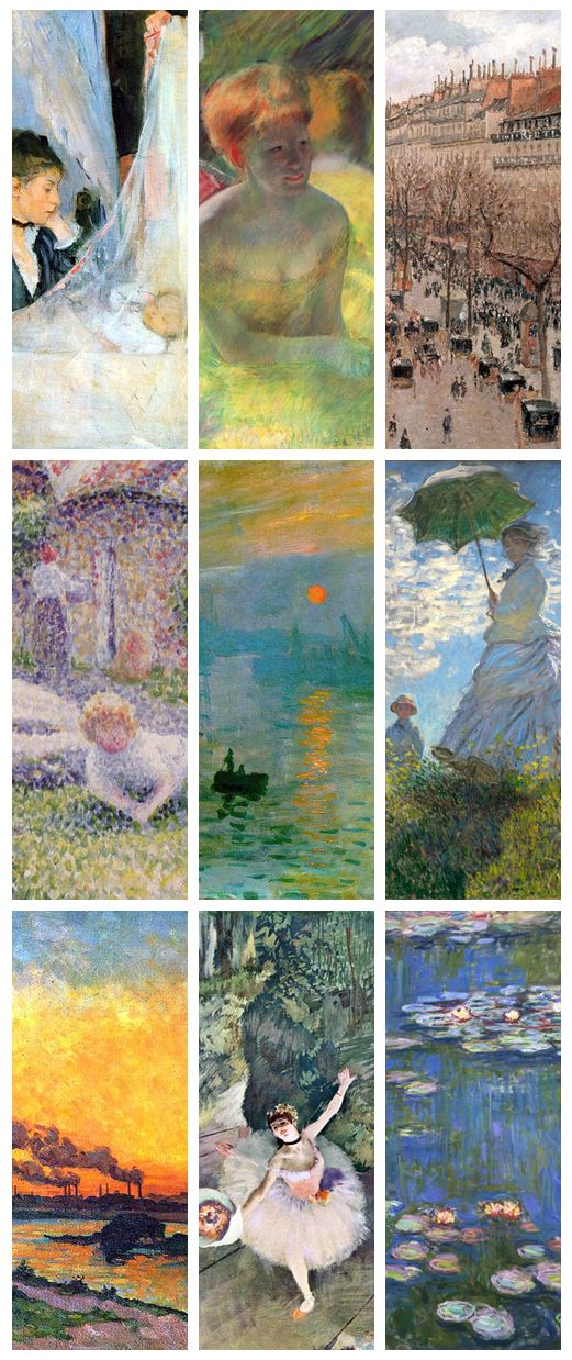 achievements of the impressionist movement in painting Impressionism was developed by claude monet and other paris-based artists from the early 1860s (though the process of painting on the spot can instead of painting in a studio, the impressionists found that they could capture the momentary and transient effects of sunlight by working quickly, in.