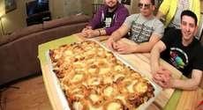 Epic Meal Time Shows Us How to Make Fast Food Lasagna #food #strangefood