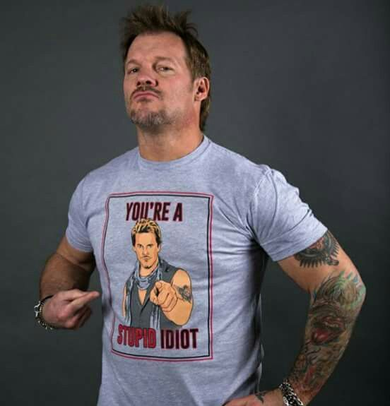 Chris Jericho - I need one of those shirts, pronto.