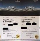 #Ticket  BVB Tickets  Legia Warschau #deutschland