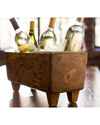 17 best ideas about pottery barn bar on pinterest wine for Pottery barn wine rack wood