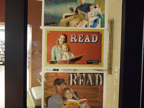 Local readers in the Read promotion - Grand County Public Library, Moab, Utah