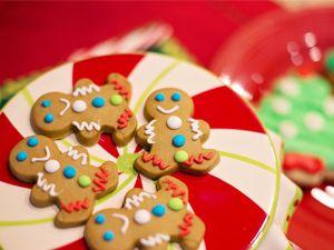 Negócio de cozinha: Fazer biscoitos de natal para vender