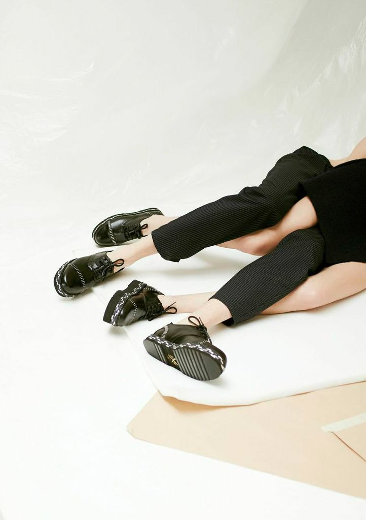 Titled Hospital for Souls, the Fall Winter 2015-16 collection from Farewell Footwear welcomes you to a sick world where madness is the emergency exit. Troublemakers shoes suspended between the purity of aseptic minimalism and trashy nineties opulence. The... »