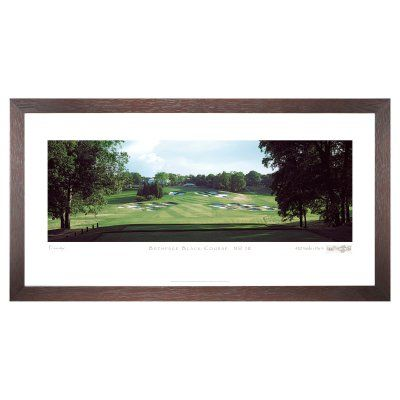 Stonehouse Framed Prestige Edition Wall Art -- Famous Golf Courses - BETHP18P