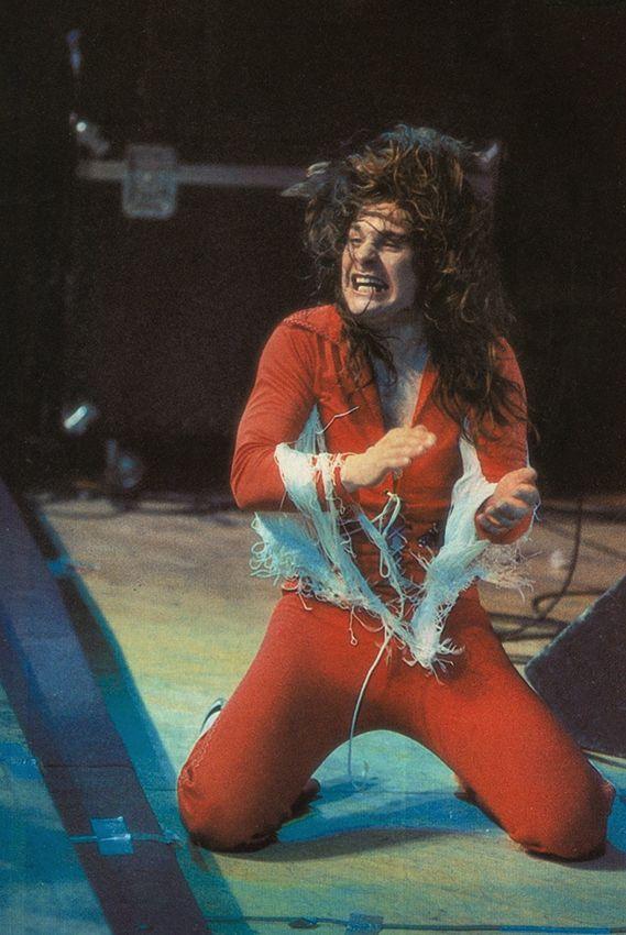 Blizzard Of Ozz - Ozzy Osbourne onstage 1981