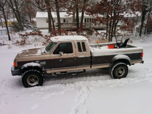 1987 Ford F250 >> 1987 Ford F 250 Xlt Lariat 4x4 Pickup Truck Old Trucks For