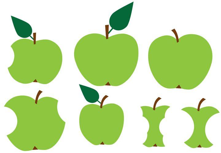 qué rica la manzana!, ilustración de Lotta Kühlhorn