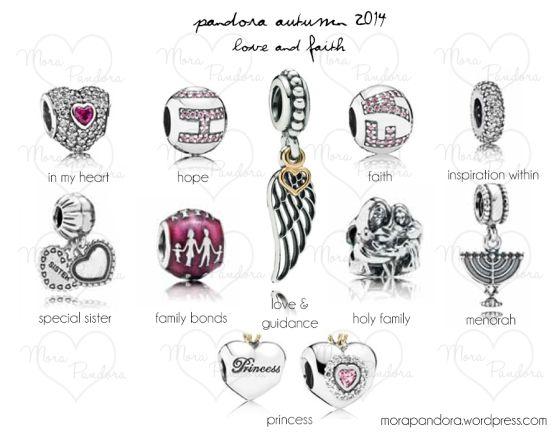 Pandora Autumn 2014 - Love and Faith Pieces.