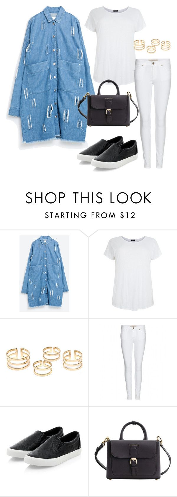 """""""Sin título #313"""" by franciscagomezm on Polyvore featuring moda y Burberry"""