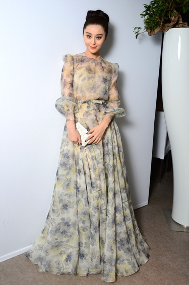 Fan Bing Bing in Valentino - L'Oreal And Cannes Film Festival 15th Anniversary Dinner
