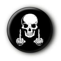 Totenkopf Skull Button #12